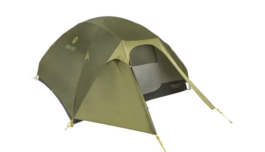 Marmot Vapor 4P - Tente - vert/olive